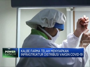 Jokowi Minta Kebut Vaksinasi, KLBF Jajaki Distribusi Vaksin
