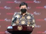 Airlangga Lapor Jokowi : Vaksinasi Nakes Selesai Februari