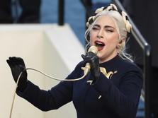 AS Resmi Ganti Presiden, Lady Gaga Ngaku Bangga