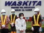 Menteri Risma Pekerjakan 15 PPKS di Proyek Waskita Karya