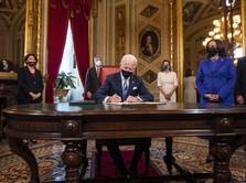Gegara Rencana Joe Biden, Harga Emas Dunia Kepeleset!
