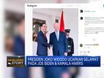 Presiden Jokowi Beri Selamat kepada Joe Biden-Kamala Harris
