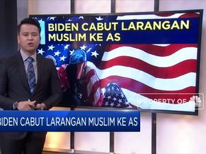 Biden Cabut Larangan Muslim ke AS