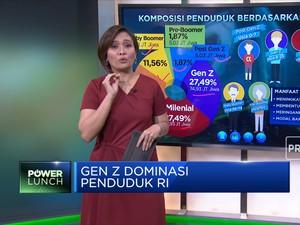 Gen Z Mendominasi Penduduk Indonesia