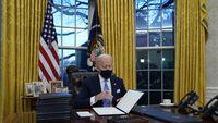 Gebrakan Biden: Ganti 645 Ribu Mobil Dinas Jadi Mobil Listrik