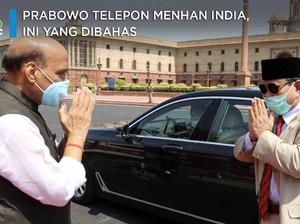 Prabowo Telepon Menhan India, Bahas Alutsista Hingga Covid-19