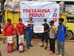 Pulihkan Korban Bencana, Pertamina Peduli Salurkan Rp 1 M