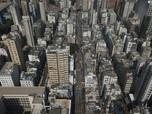 Saat Hong Kong Bagaikan 'Kota Mati' Gara-gara Lockdown