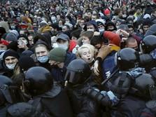 Sudah 5000-an Lebih Pendukung Alexei Navalny 'Disikat' Putin