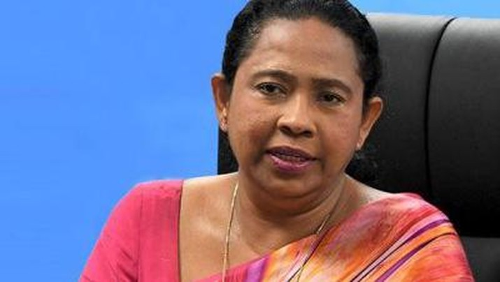 Menkes Sri Lanka Pavithra Wanniarachchi/Dok Colombopage