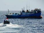 Kejar-kejaran! TNI AL Akhirnya Tangkap Kapal Taiwan di Natuna