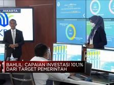 BKPM: Investasi 2020 Capai 101,1% Dari Target Pemerintah