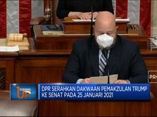 DPR AS Siap Serahkan Dakwaan Pemakzulan Trump Ke Senat