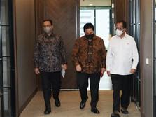 Erick Meeting 'Bareng' Budi Karya & Anies, Bahas Apa Ya?