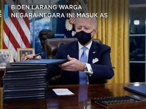 Biden Larang Warga Negara-negara Ini Masuk AS