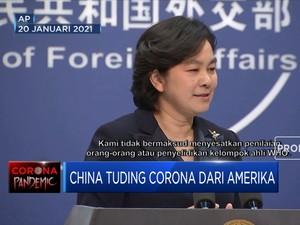 China Tuding Corona Berasal dari Amerika