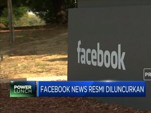 Facebook News Resmi Diluncurkan di Inggris