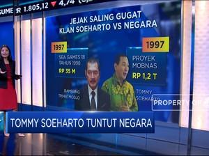 Tommy Soeharto Tuntut Negara