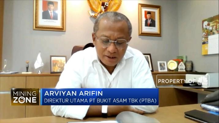 Banjir Stimulus, PTBA Optimistis di Proyek Gasifikasi Batu Baru  (CNBC Indonesia TV)