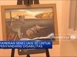 Pameran Seni Lukis 3D Untuk Penyandang Disabilitas di Rusia