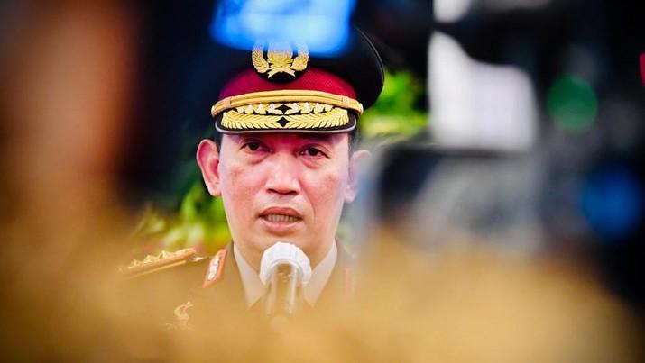 Pelantikan Listyo Sigit Prabowo Jadi Kapolri. Setelah dilantik Presiden Jokowi, Listyo Sigit Prabowo resmi menjabat sebagai Kapolri menggantikan Jenderal Idham Azis yang memasuki masa pensiun. (Dok: Biro Pers Sekretariat Presiden)