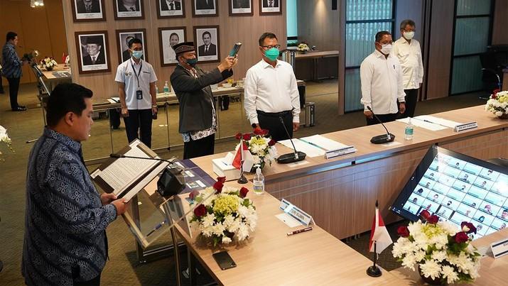 Pelantikan pejabat di Kementerian BUM. (Dok: BUMN)