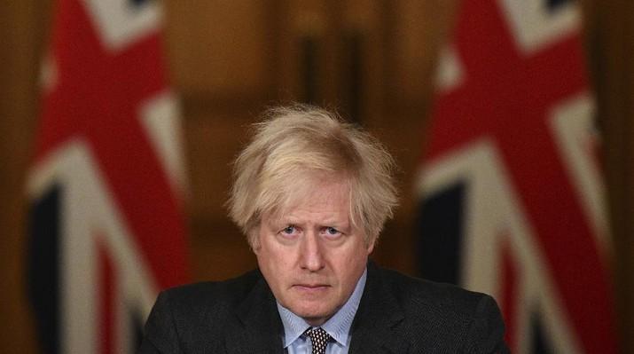 PM Inggris Boris Johnson. (AP/Justin Tallis)