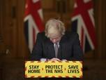 Potret Boris Johnson Meminta Maaf atas Kematian Covid Inggris