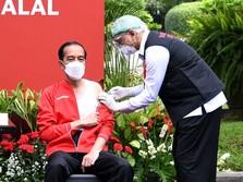 Satgas: Tak Ada Efek Samping Usai Jokowi Divaksinasi Covid-19