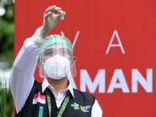Gaya Jokowi Hingga Raffi Ahmad Saat Vaksinasi Covid Tahap II