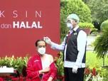Divaksin Dosis Kedua, Jokowi: Rasanya Sama Saja!