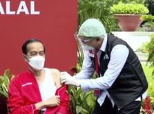 Ambisi Jokowi: Vaksinasi Satu Juta Orang Dalam Satu Hari