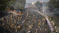 Tuntut Reformasi Pertanian, Unjuk Rasa Petani India Rusuh!