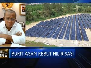 Selain Hilirisasi, PTBA Bangun PLTS di Lahan Bekas Tambang