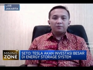 Tesla Minati Investasi Pembuatan Baterai & Energy Storage RI