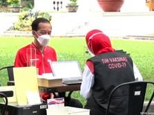 Jokowi Ungkap Alasan Vaksinasi Covid-19 Berjalan Lambat