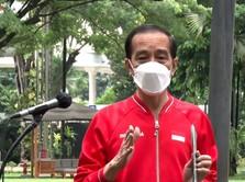 Dear Warga +62, Ini Pesan Jokowi Usai Divaksin Covid