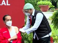 Dari Jokowi ke Raffi Ahmad, Deretan Tokoh Divaksin Dosis ke-2