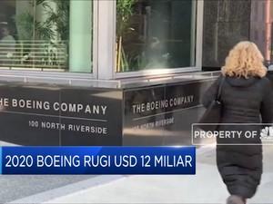 Boeing Rugi US$ 12 Miliar Sepanjang Tahun 2020