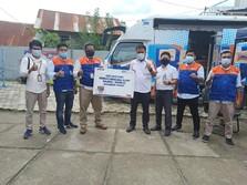 BRINS Salurkan Bantuan untuk Korban Banjir & Gempa