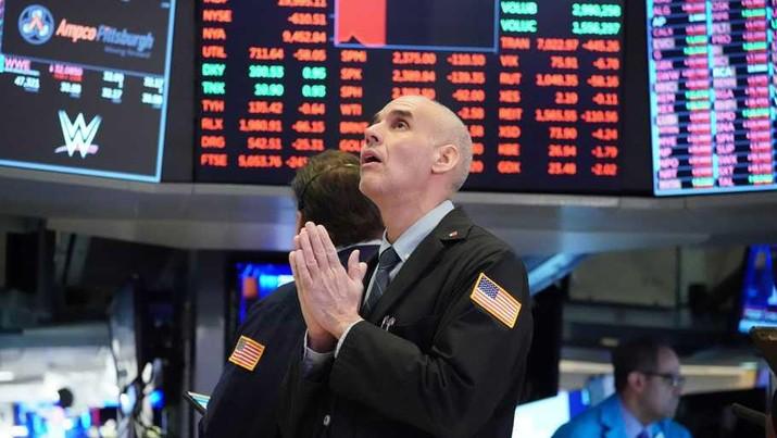 Emiten Wall Street. AP