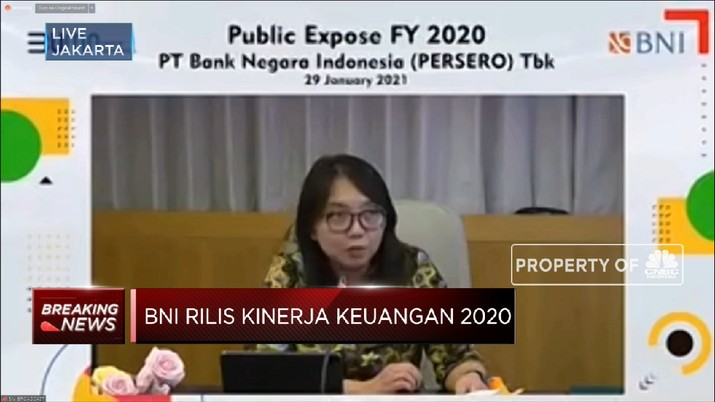 BNI di 2020 Cetak Laba Bersih Rp 3,3 Triliun (CNBC Indonesia TV)