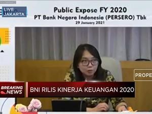 Sepanjang 2020, BNI Cetak Laba Bersih Rp 3,3 Triliun