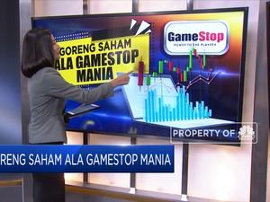 Goreng Saham Ala Gamestop Mania