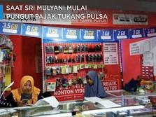 Saat Sri Mulyani Mulai Pungut Pajak Penjualan Pulsa-Token
