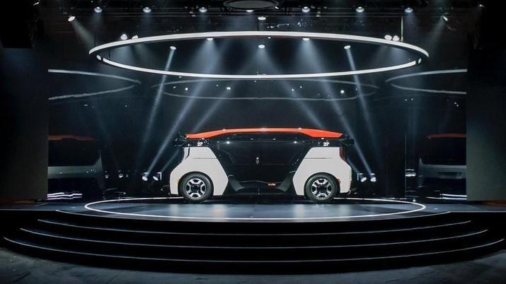 Honda kembangkan Cruise Origin sebagai kendaraan Otonom. (Dok: Honda)
