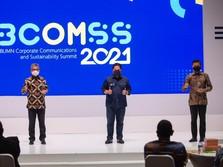 BRI Raih Best of The Best Communications 2021