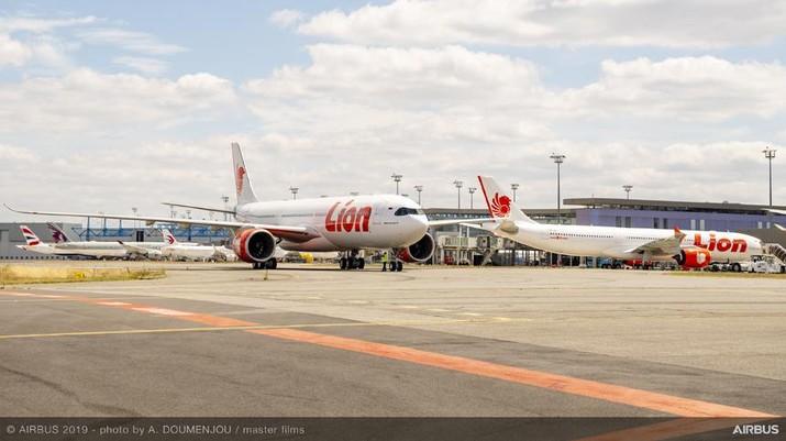 """Lion Air Menerima Pesawat Kelima dan Menyambut Pesawat Keenam """"Airbus 330-900NEO"""" (Dok. Alexandre Doumenjou - Master Film via Lion Air)"""
