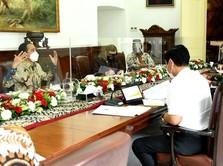Jokowi Ajak Epidemiolog Desain Kebijakan Tangani Covid