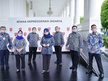 Ombudsman RI Sowan Jokowi: Lapor Pungli Para PNS & Limbah APD